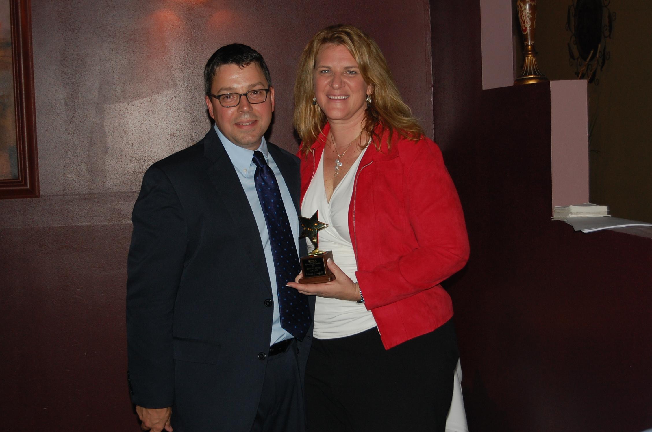 DSC_0058 Rebecca Crisafulli - Rising Star Award and Michael Gardner, APR