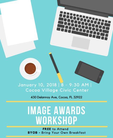 Jan. 10: Image Awards Workshop