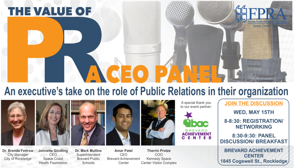 The Value of PR – A CEO Panel