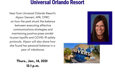 Striking the Balance in a Year of Transition: Universal Orlando Resort