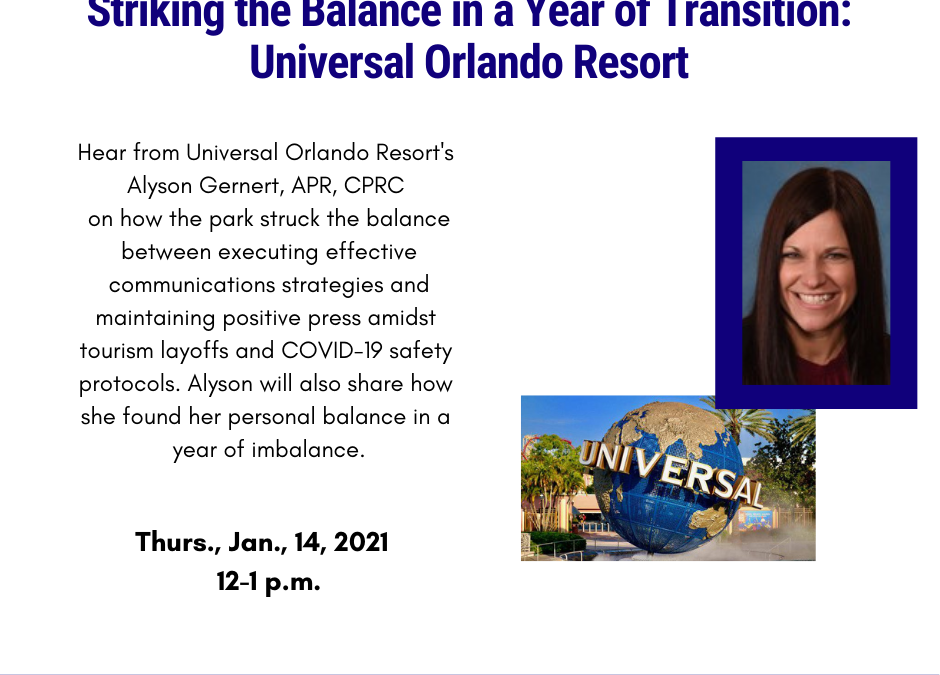 Striking the Balance in a Year of Transition: Universal Orlando Resort